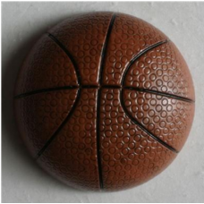 BOTTONE PALLONE DA BASKET 251502