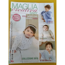 MAGLIA CREATIVA BABY N. 8