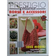 PRESTIGIO COLLANA - BORSE E ACCESSORI ALL'UNCINETTO