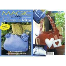 MAGIC HOBBY - LE BORSE IN FELTRO